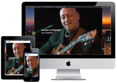 Herbie Guldenaar, jazz guitarist