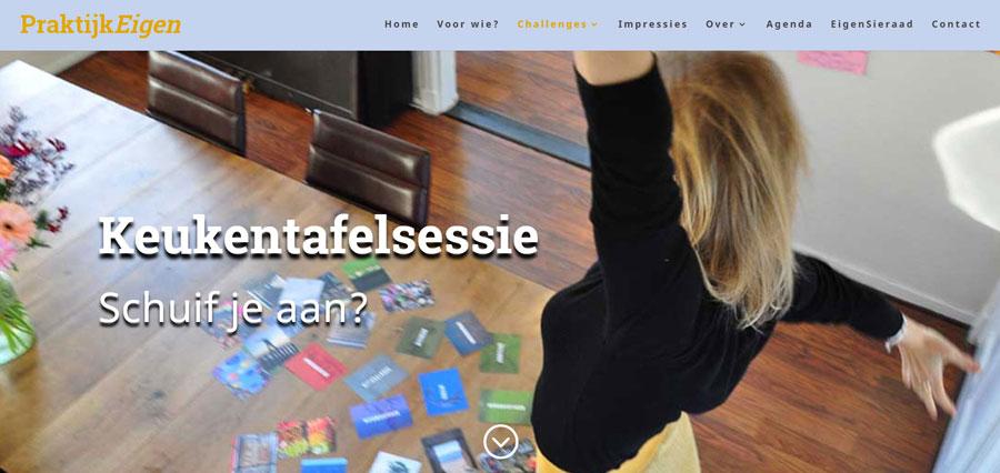 Website voor PraktijkEigen